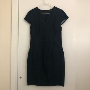 Denim dress from Banana Republic.